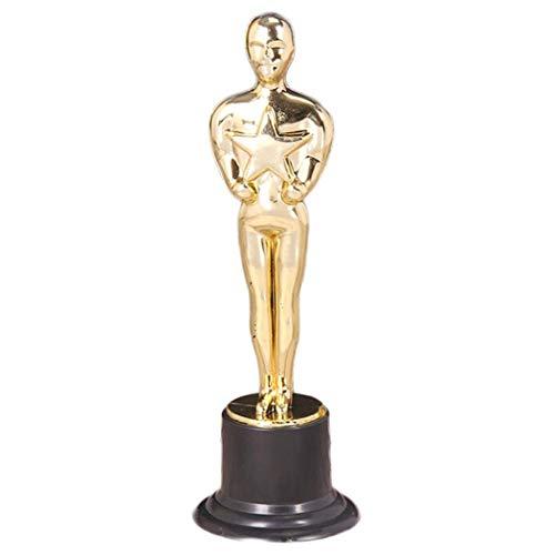 Kunststoff für Gastgeschenke Party Belohnung Preise Kinder Goldene Pokal Ornamente ()