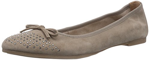 s.Oliver 22107, Ballerine chiuse donna, Marrone (Braun (Pepper 324)), 42
