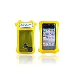 DiCAPac Boitier étanche pour iPhone 3G/3GS/4 Jaune
