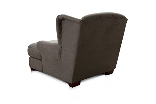 Cavadore 2198824 XXL-Sessel Love Seats dunkelgrau - 3