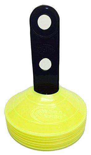 World Sport 50Disc Konus-Set mit Carrier?wählen Sie aus 10Farben Neon Gelb