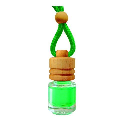 Preisvergleich Produktbild Eleganter Duftflakon Duftbaum Autoduft Duftflasche - grüner Apfel 5ml