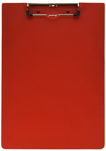OMNIMED Hartschale Poly Klemmbrett, mehrere Farben erhältlich rot