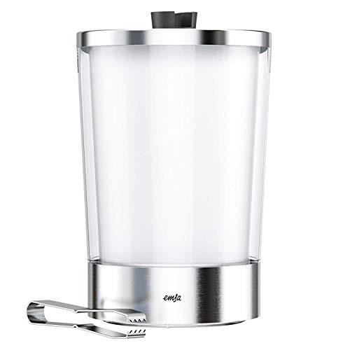 EMSA 514235 Flow Slim Eiswürfelbehälter, 14.5  x  14.5  x  23.5 cm,Transparent