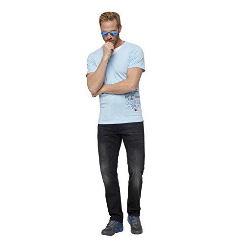 Nebulus T-Shirt DAVIS hellblau