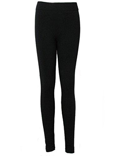 Love Lola - Legging -  - Uni Femme Noir Noir Noir