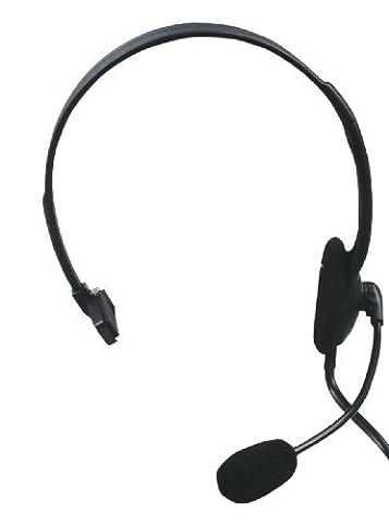 König CMP-HEADSET28 Over-Ear-Kopfhörer mit Mikrofon (97dB, RJ-9,