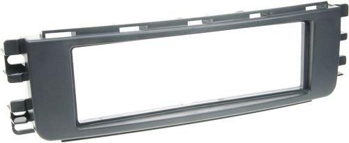 ACV 281190-44 1-DIN Radioblende für Smart ForFour 2004-2006 schwarz