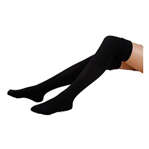 Calze Familizo Le donne Ragazza di inverno sopra il ginocchio