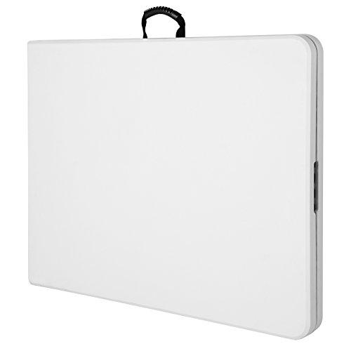 Tisch klappbar Kunststoff weiß 76×182 cm Partytisch Buffettisch Klapptisch - 6