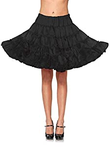 Leg Avenue- Guerrero Mujer, Color negro, Talla Única (EUR 36-40) (276122001)