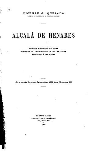 Alcalá de Henares, edificios históricos en ruina, comercio de antiguedades de Bellas Artes por Vincente G. Quesada