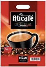 Alicafe French Roast Instant (Coffee Premix) – 666 GMS (18.5gm sachets X 36)