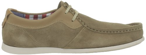 Base London Catch, Herren Sneakers Beige (suede Beige)