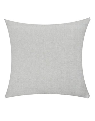 Jyotex Cotton 1 Piece Cushion COVER - 16'' x 16'', Grey