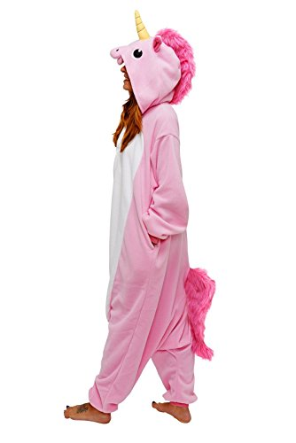 t Animal Jumpsuits Pajamas Animal Unicorn Jumpsuit Sleepwear Unisex Cosplay Costume for Women and Men (Super Einfach Adult Halloween-kostüme)