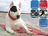Kühlmatte für Hunde Gr S: Scottish Grey – 40 cm x 30 cm - 2