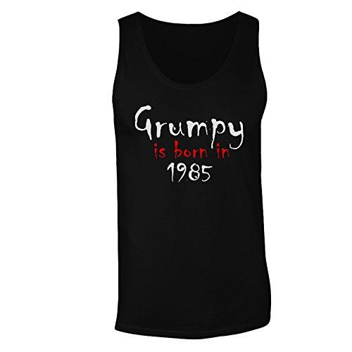 Grumpy è nato nel 1985 canotta da uomo c242mt Black