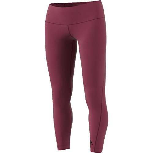 Adidas Wo Hr Long Collants Femme Rouge (Rubmis)