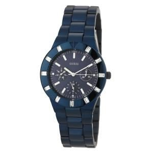Guess Woman Quartz Watch Blue 35 mm
