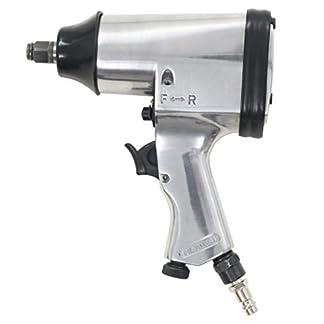 vidaXL Llave Impacto Neumática Metal 1/2″ 312 Nm Pistola Atornillado Trinquete
