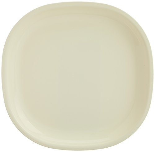 Signoraware Square Full Plate Set, Set of 3, Off White