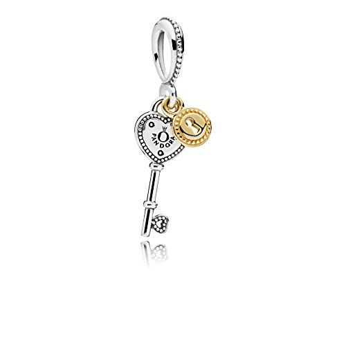 Pandora Charm-Anhänger Schlüssel zu meinem Herzen 796593 (Schlüssel Herz Anhänger)