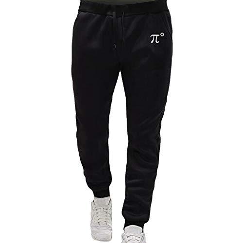 Beladla Pantaloni Uomo Elegante Jogging Leggeri in Cotone Pantalone Nero Sportivi da Lavoro Maschi Casual Autunno Invernale Trousers Atletica Abbigliamento Running Cargo Pants