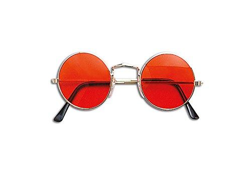 John Lennon Style Sonnenbrille Erwachsene 60er 70er Jahre Hippie Fancy Kleid Gläser (Kleider Johns)