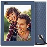 Nixplay Seed 8 inch WiFi Digitaler Bilderrahmen - Blau -