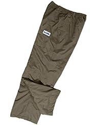 Hardwear nuevo verde 100% impermeable pesca sobre pantalones tamaño XL