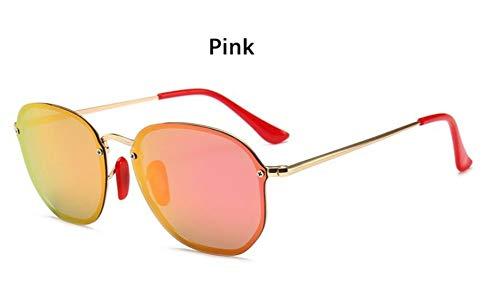 Sonnenbrille Retro Kleine Sechseckige Polarisierte Sonnenbrillen Männer Im Freien Treibenden Gläser Spiegel Sonnenbrille Frauen Einzigartige Brillen Vu 400 Rosa Spiegel
