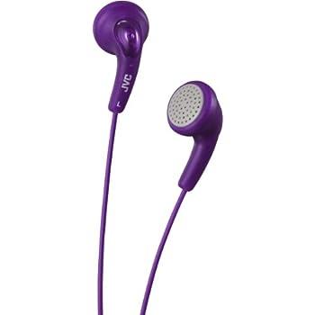 JVC Gumy Headphones for iPod, iPhone, MP3 - Violet