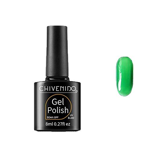 Ovale Metall-schimmel (Cuteelf Medium False Nails Oval Fake Nail Glatte Hellgrau Lila und Nude Graduierte Farbe)