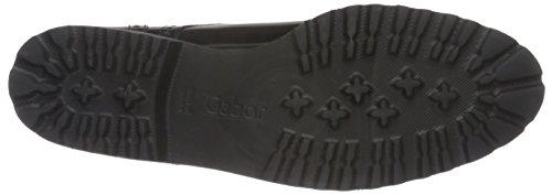 Gabor Shoes 51.410 Damen Brogue Schnürhalbschuhe Schwarz (Schwarz (Ra.Cuoio) 77)