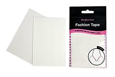 Perfection Fashion Tape Invisible Body Tape Strips - 20 pieces
