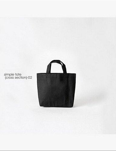 ZQ Papier Tasche Hand waschbar Tasche klein Fresh einfach Damen Tasche schwarz - schwarz