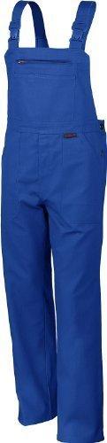 Qualitex Arbeits-Latzhose BW 270 - Größe: 58 - kornblau