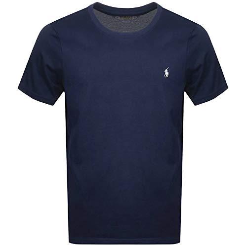 791d4794ed Polo Ralph Lauren | Hombres Camiseta de algodón Azul | RLU_714706745002 - S