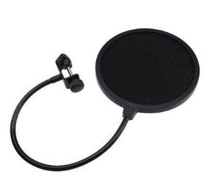 TOOGOO(R) 1 x filtre anti-pop/protecteur anti-bruit et anti-salive pour microphone