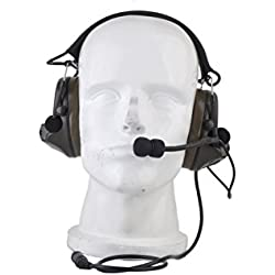 SINAIRSOFT Z-tactical Sordin Tactical Auriculares Airsoft Comtac Z 041 ZComtac II Auriculares de estilo casco Auriculares anti-ruidos, Auriculares anti-ruido, Auriculares anti-ruido, Auriculares anti-ruido, Auriculares anti-interferencias, Equipamiento de campo, Auriculares de campo