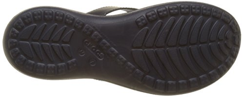 Crocs Capri V Flip Women, Infradito Donna Blu (Navy/pearl White)
