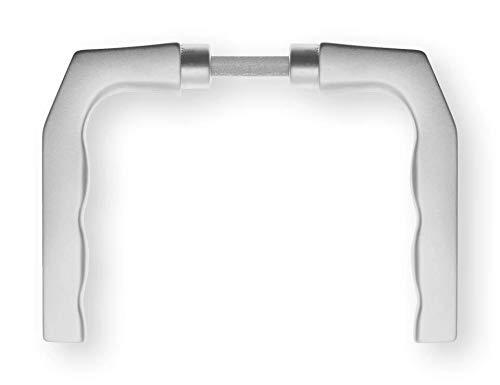 01 Rosette (Dieckmann Türdrückerpaar 125Z Alu.0105 o.Rosetten VK 8mm - 1125/0808/01)