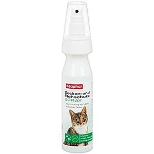 Beaphar 13792 Zecken- und Flohschutz Spray, Katze, 150 ml