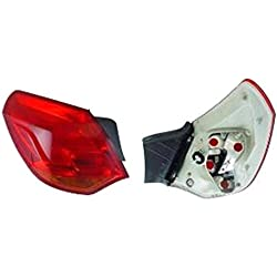 Left Passenger Side Rear Lamp Tail Light (5-Door Hatchback Standard Type no Bulbholder)