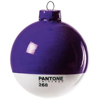Seletti U0027Ball Aus Glas Christmas Pantone ® 268 Ø Cm.8 U2013 Violett