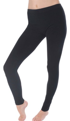 socks-uwearr-ladies-stretch-cotton-elastane-leggings-plain-black-design-14-16