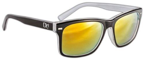 Dice Unisex Sonnenbrille, white/black, one size, D06210-4