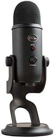 Blue Microphones Yeti Micrófono USB para grabación y transmisión en PC y Mac, transmisión de juegos