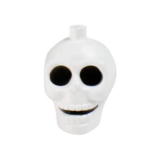 Igemy Halloween Laterne Schädel Schnur Beleuchtet 16 LED -